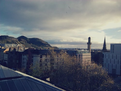Edinburgh from the University health centre